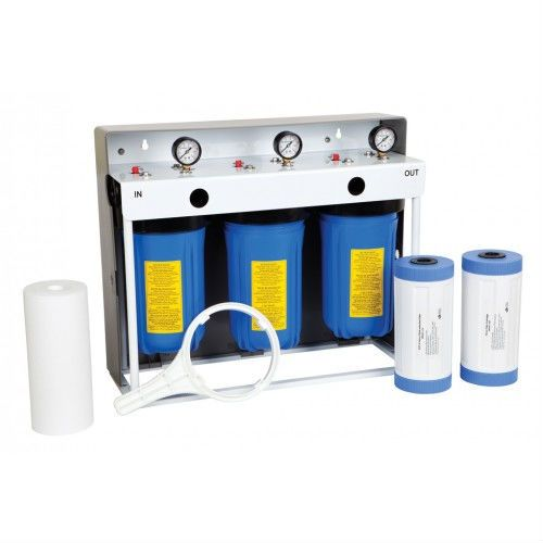 3 Stage Whole House Water Filtration System