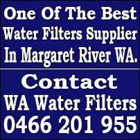 Best Water Filters Margaret River, Reverse Osmosis Filters System Margaret River, Under sink Filters Margaret River, Whole House Water Filters Margaret River and Replacement Filters Cartridges Margaret River.